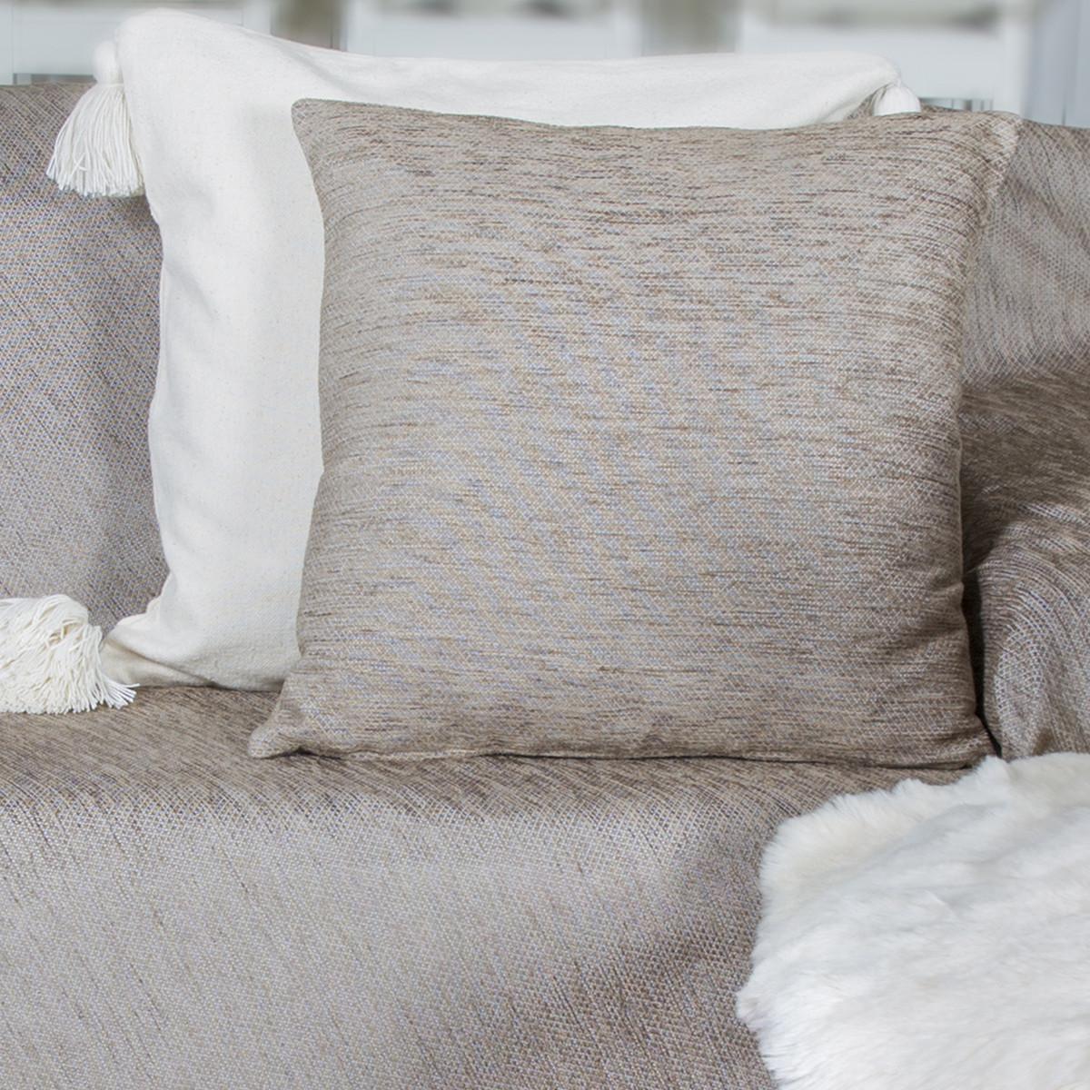 Διακοσμητική Μαξιλαροθήκη Loom To Room Miski Beige