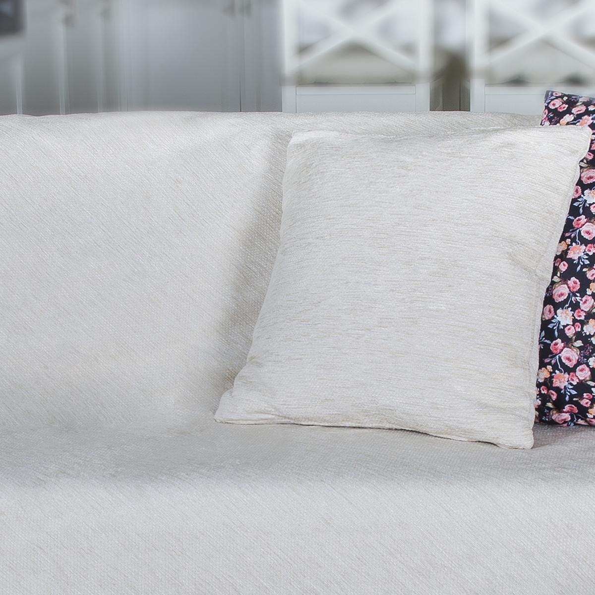 Διακοσμητική Μαξιλαροθήκη Loom To Room Miski Ecru