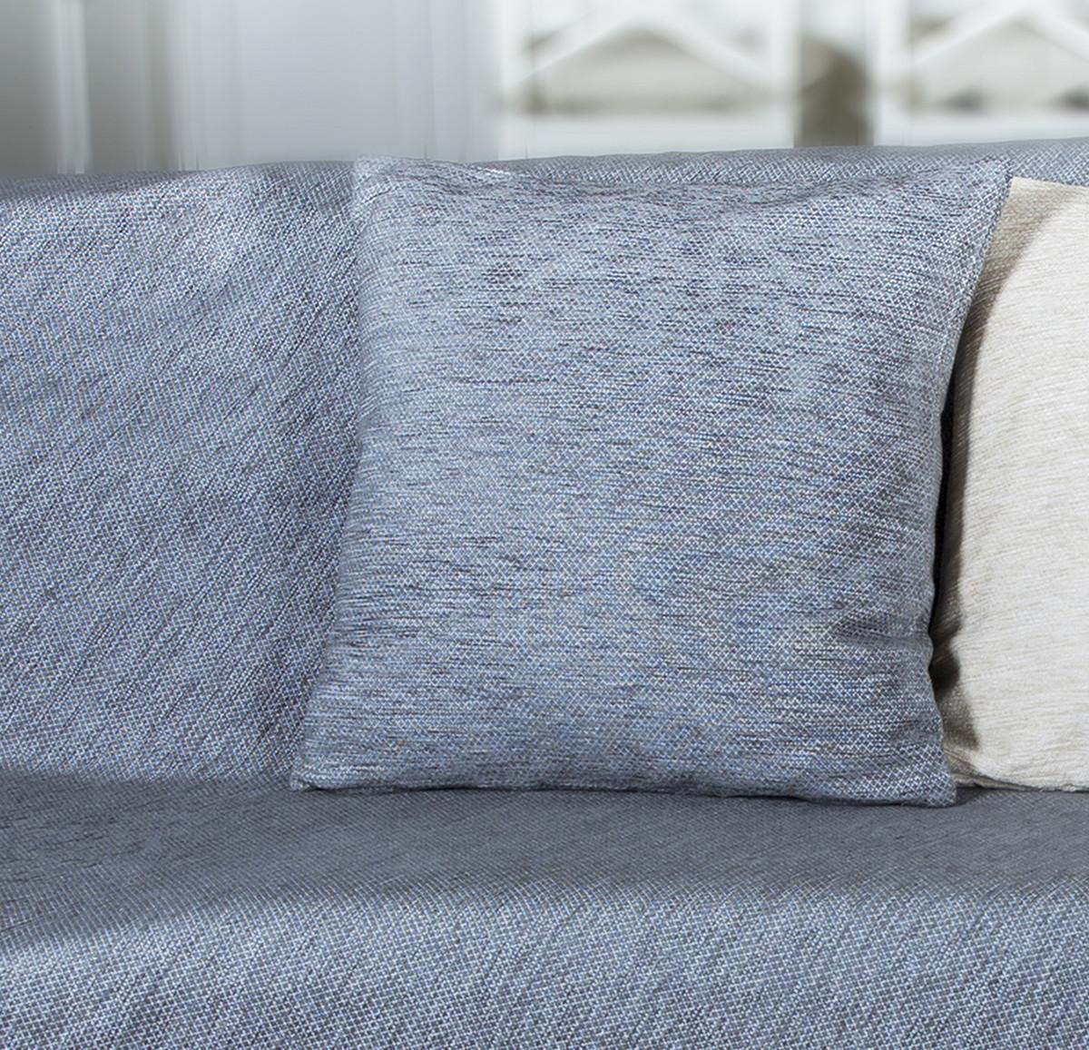 Διακοσμητική Μαξιλαροθήκη Loom To Room Miski Grey