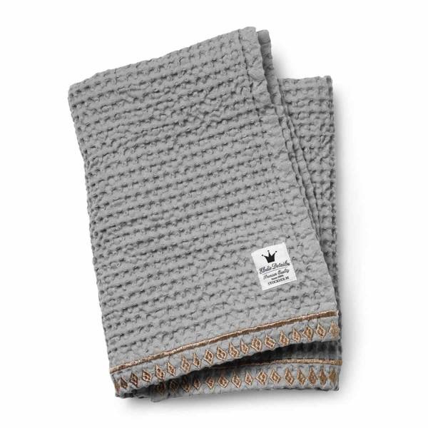 Κουβέρτα Πικέ Αγκαλιάς Elodie Gilded Grey BR71187