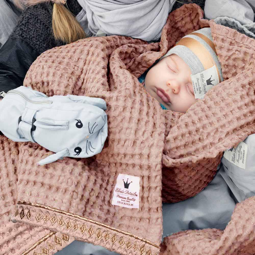 Κουβέρτα Πικέ Αγκαλιάς Elodie Details Gilded Powder BR71188 home   βρεφικά   κουβέρτες βρεφικές   κουβέρτες καλοκαιρινές