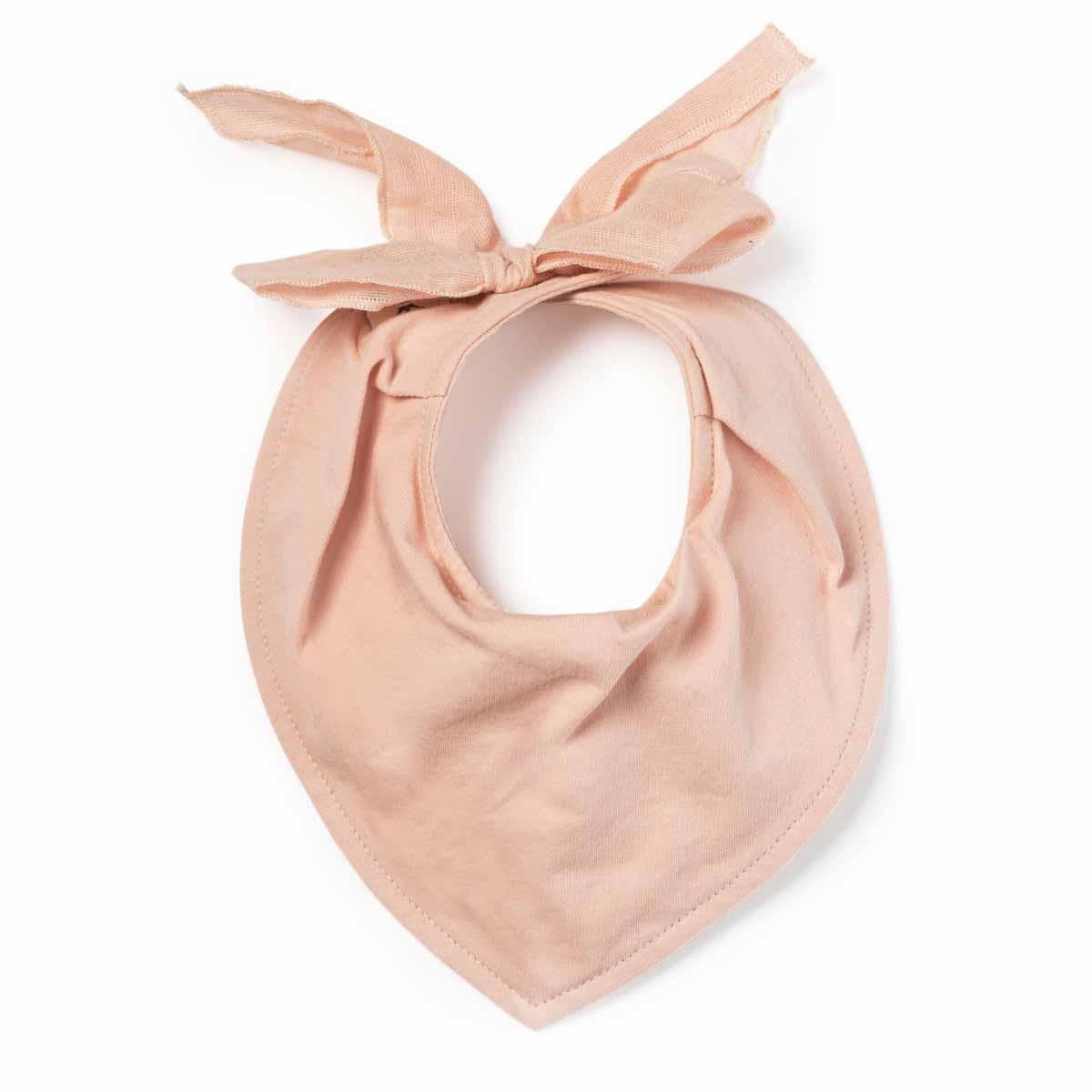 Σαλιάρα-Μπαντάνα Elodie Powder Pink BR71514