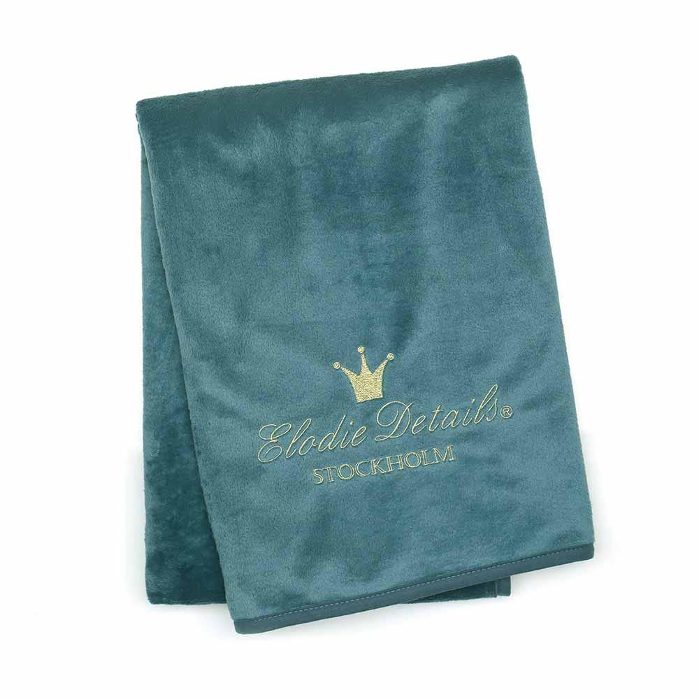 Κουβέρτα Fleece Αγκαλιάς Elodie Pearl Pretty Petrol BR72572