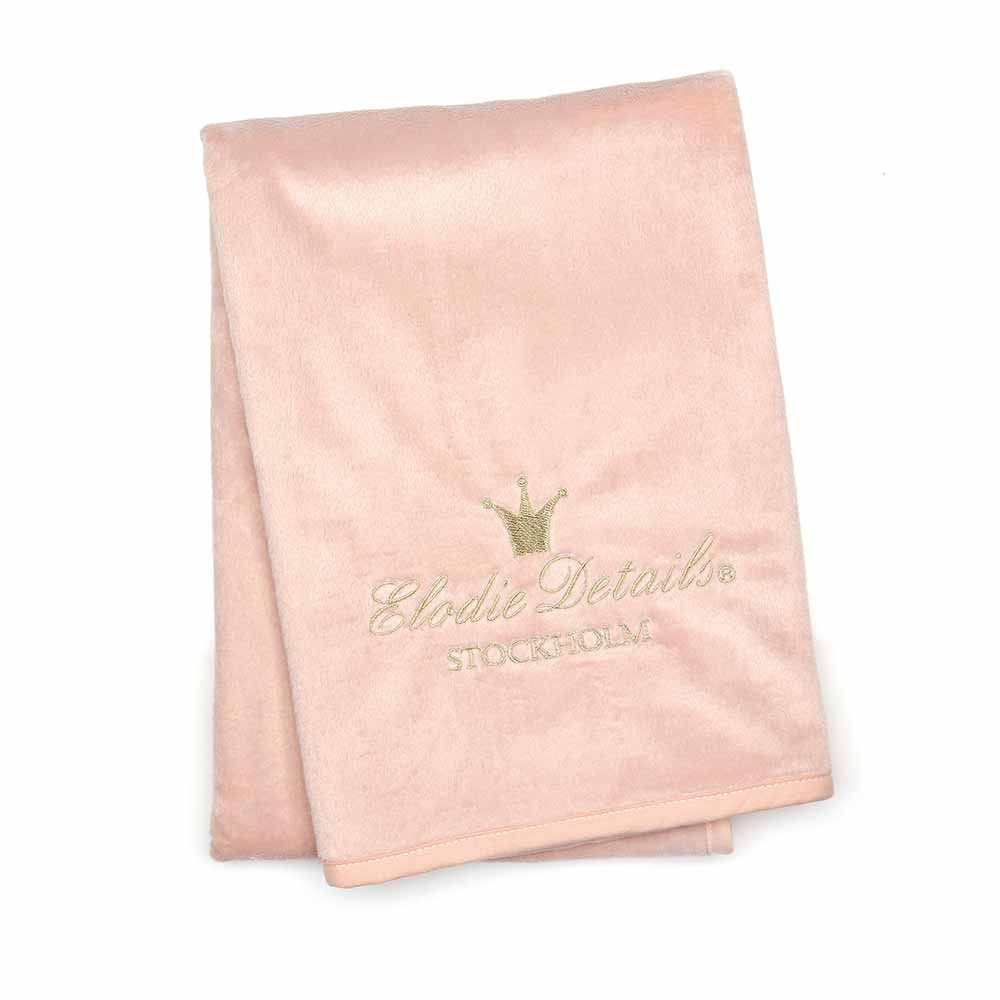 Κουβέρτα Fleece Αγκαλιάς Elodie Details Pearl Velvet Powder Pink