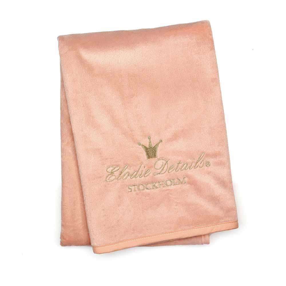 Κουβέρτα Fleece Αγκαλιάς Elodie Details Pearl Velvet Faded Rose