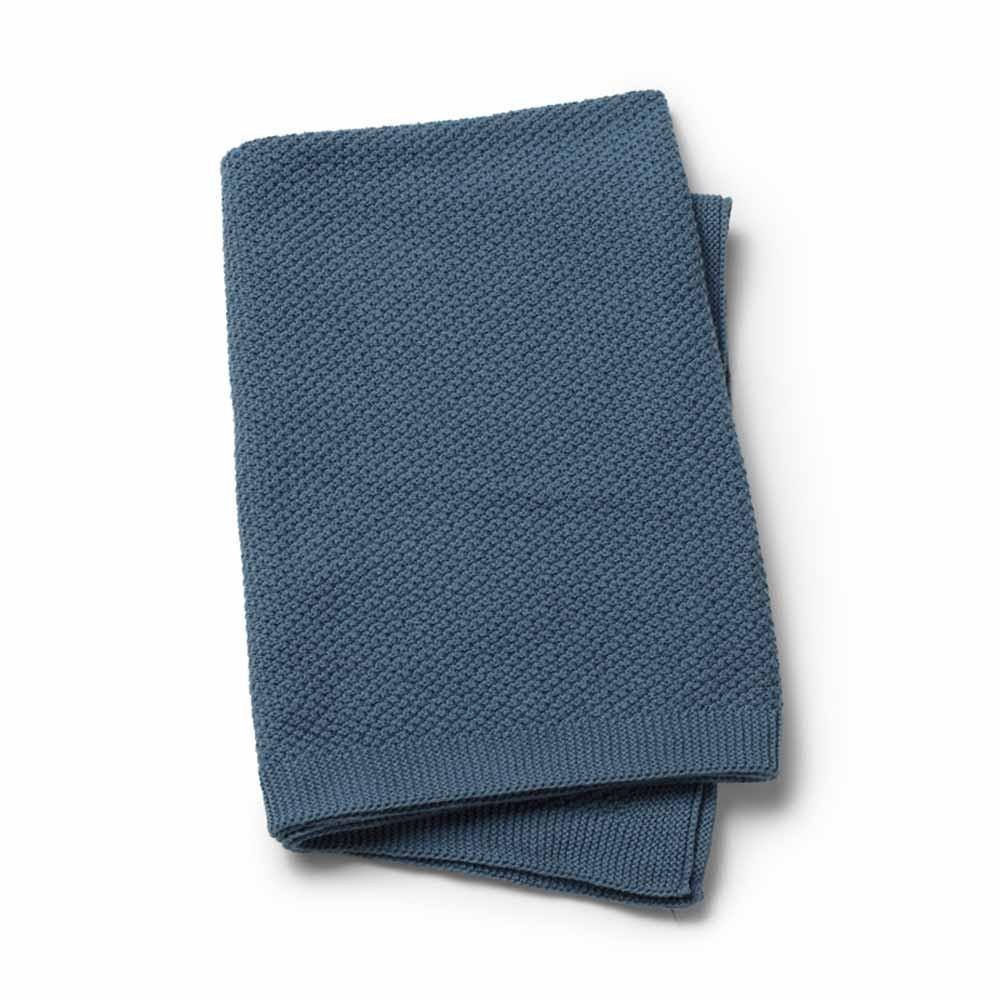 Κουβέρτα Πλεκτή Αγκαλιάς Elodie Details Tender Blue