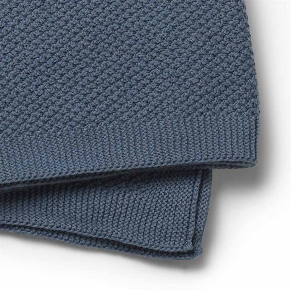 Κουβέρτα Πλεκτή Αγκαλιάς Elodie Tender Blue BR72766