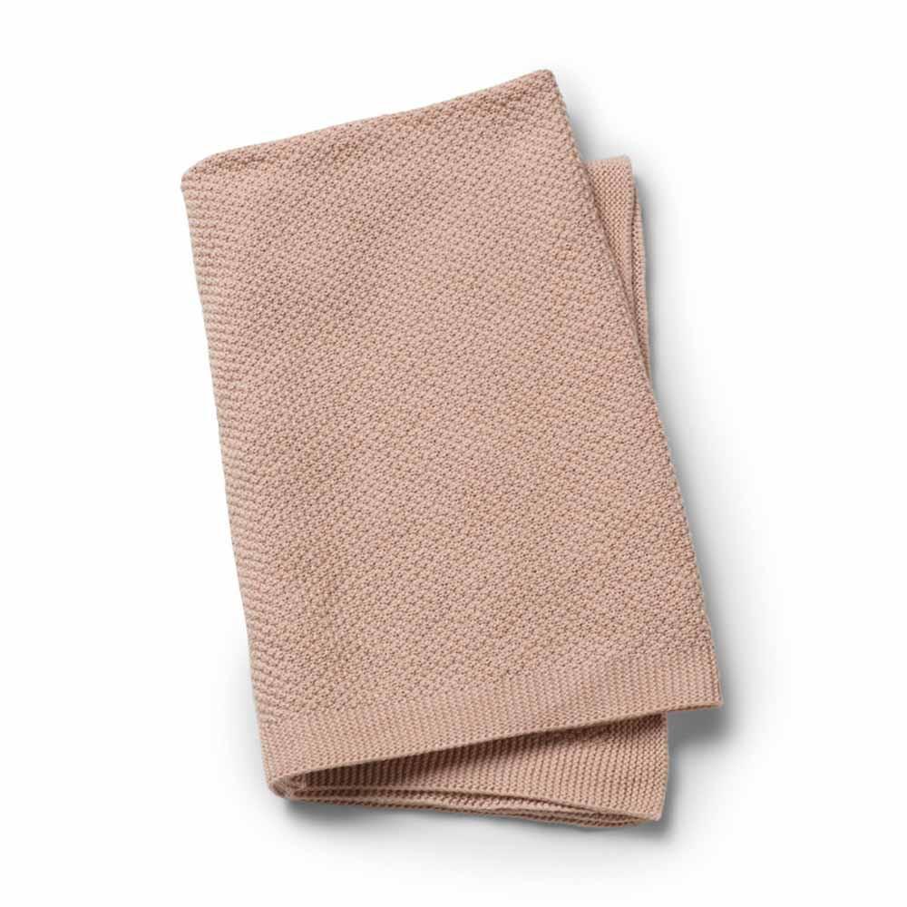 Κουβέρτα Πλεκτή Αγκαλιάς Elodie Powder Pink BR72767