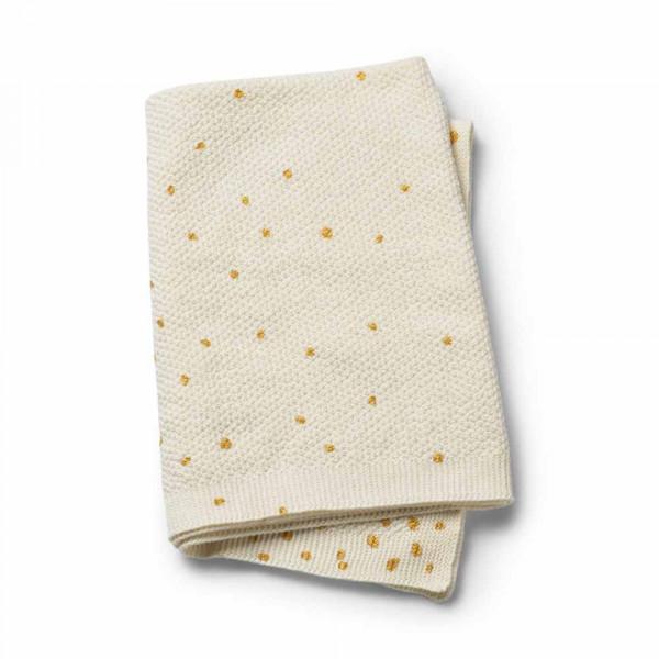 Κουβέρτα Πλεκτή Αγκαλιάς Elodie Gold Shimmer BR72768