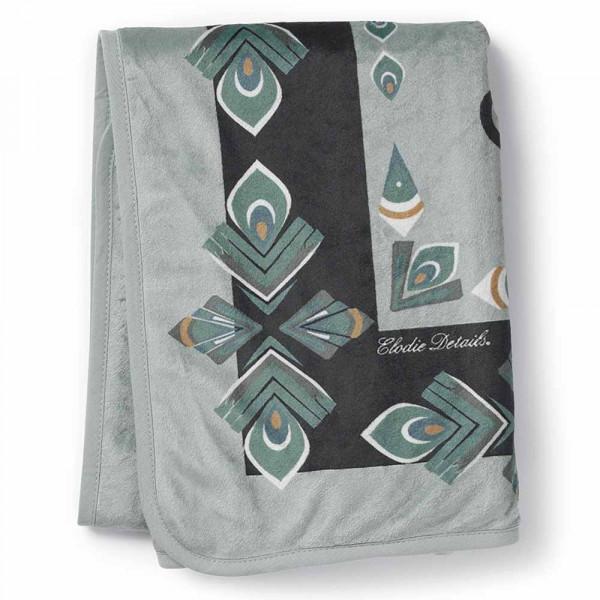 Κουβέρτα Fleece Αγκαλιάς Elodie Pearl Everest Feathers BR73264