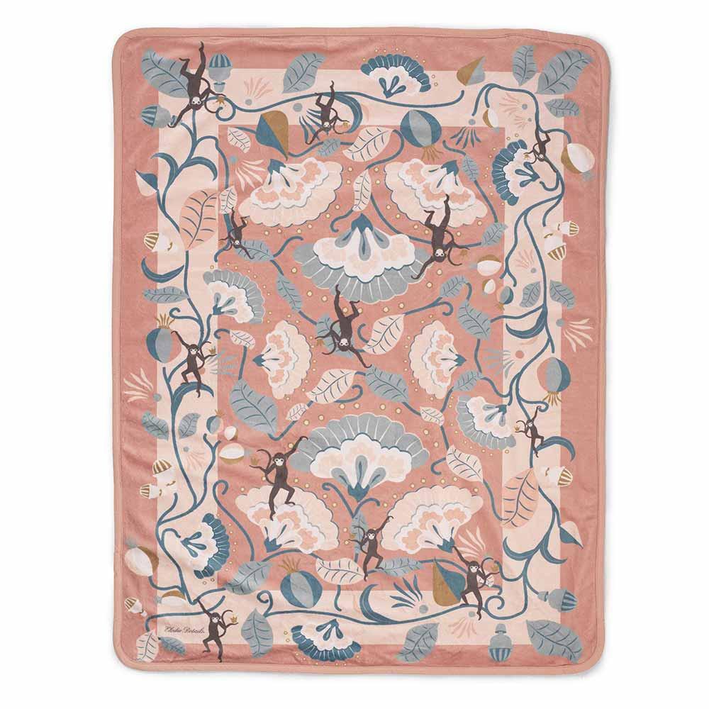 Κουβέρτα Fleece Αγκαλιάς Elodie Pearl Midnight Bells BR73265