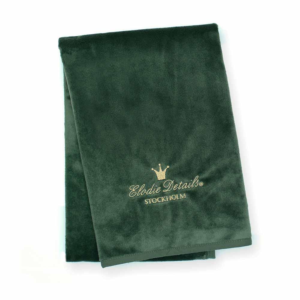 Κουβέρτα Fleece Αγκαλιάς Elodie Details Pearl Velvet Valley Green BR73266