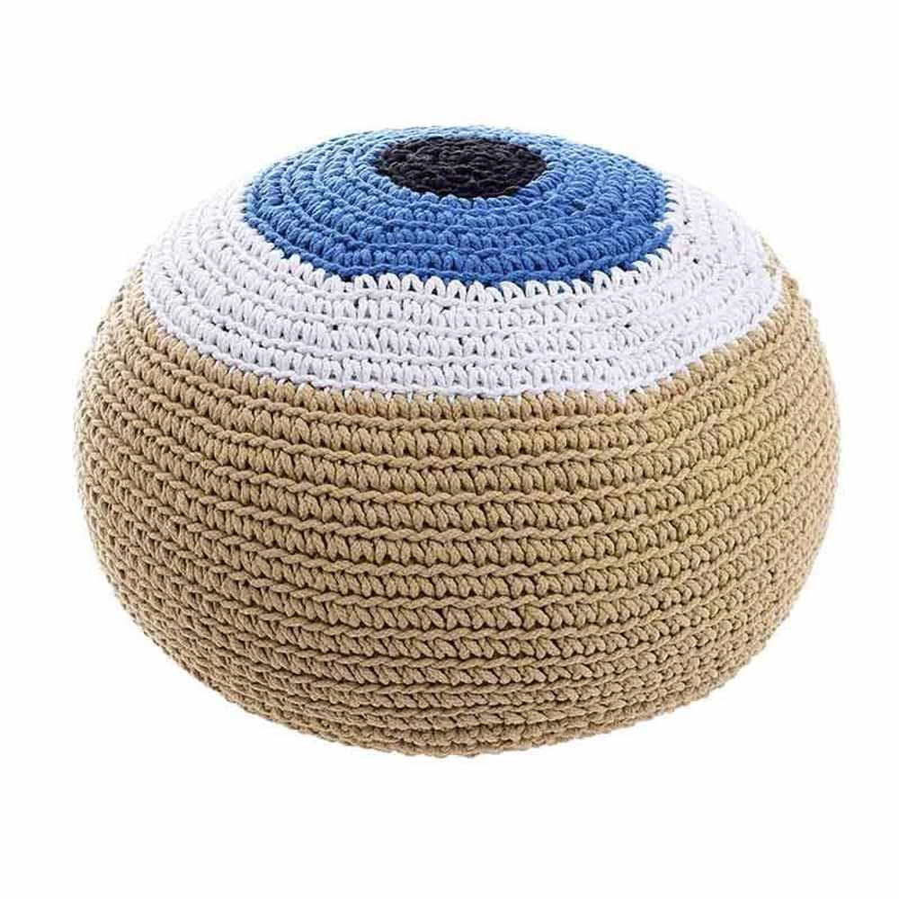 Πουφ InArt Eye 3-50-291-0031 home   σαλόνι   μαξιλάρες   πουφ   σκαμπό