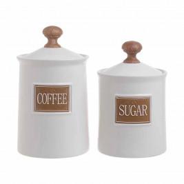 Δοχείο Ζάχαρης + Καφέ (Σετ) InArt 3-60-618-0022