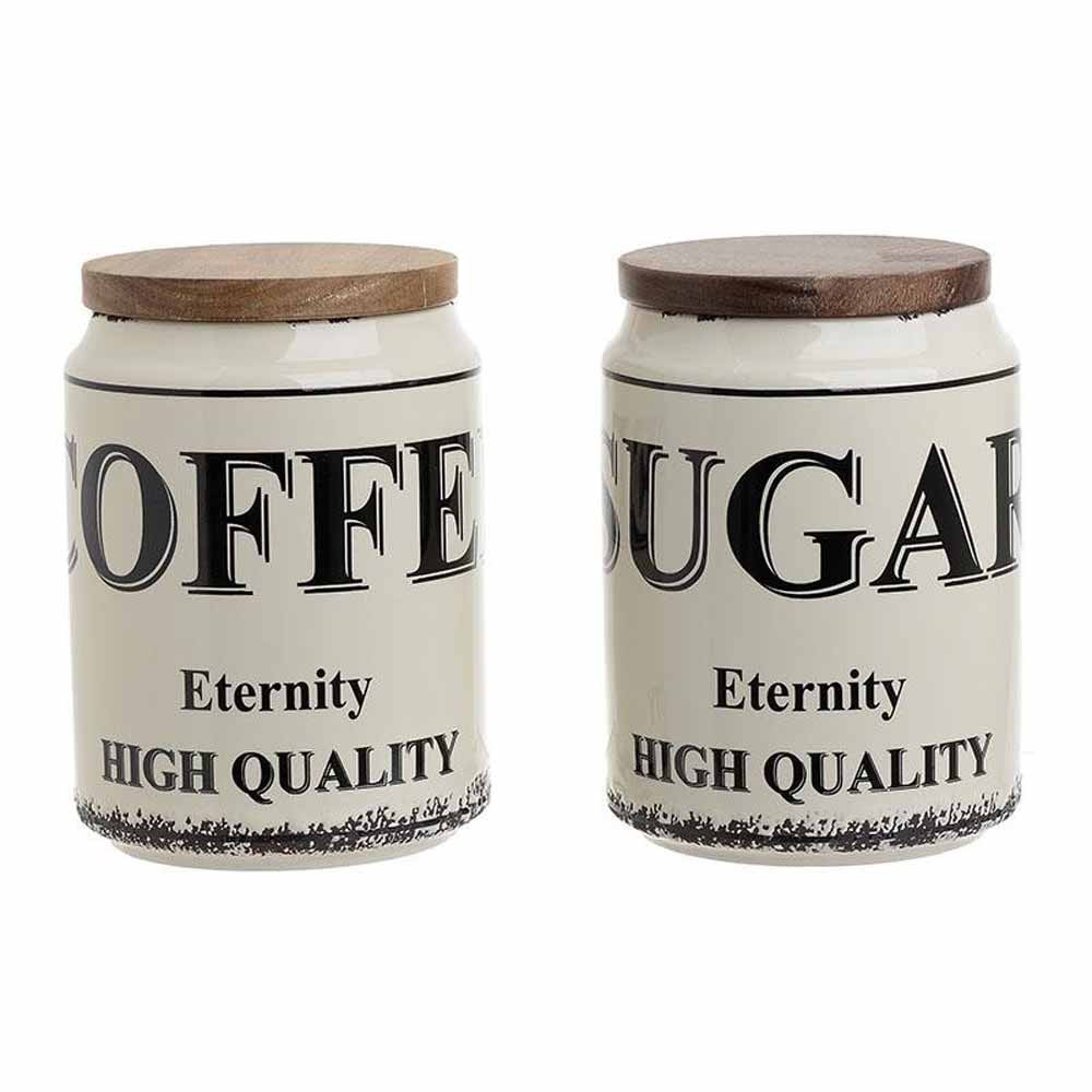 Δοχείο Ζάχαρης + Καφέ (Σετ) InArt 3-60-931-0143