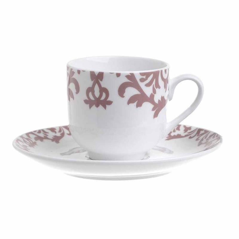 Φλυτζάνια Καφέ + Πιατάκια (Σετ 6τμχ) InArt 3-60-142-0006