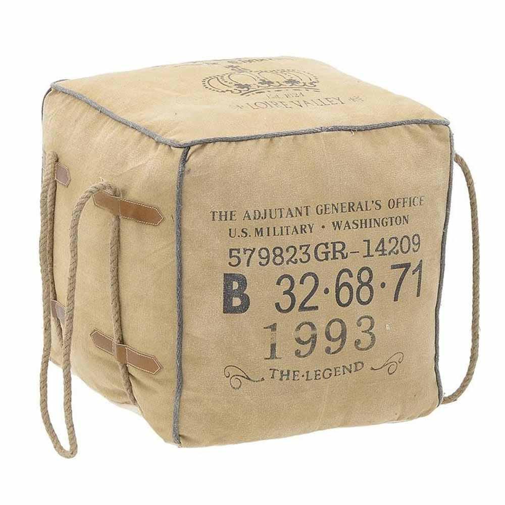 Πουφ InArt 3-50-580-0001 home   σαλόνι   μαξιλάρες   πουφ   σκαμπό