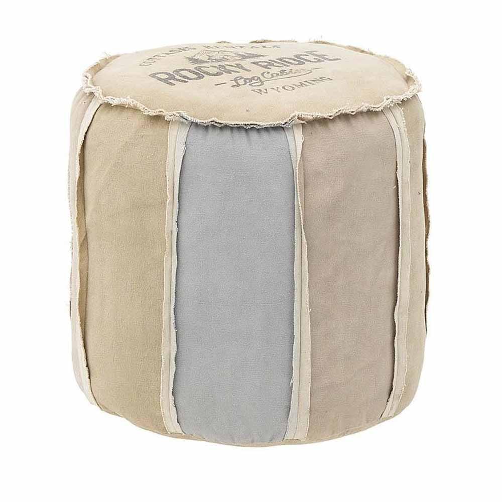 Πουφ InArt 3-50-580-0002 home   σαλόνι   μαξιλάρες   πουφ   σκαμπό
