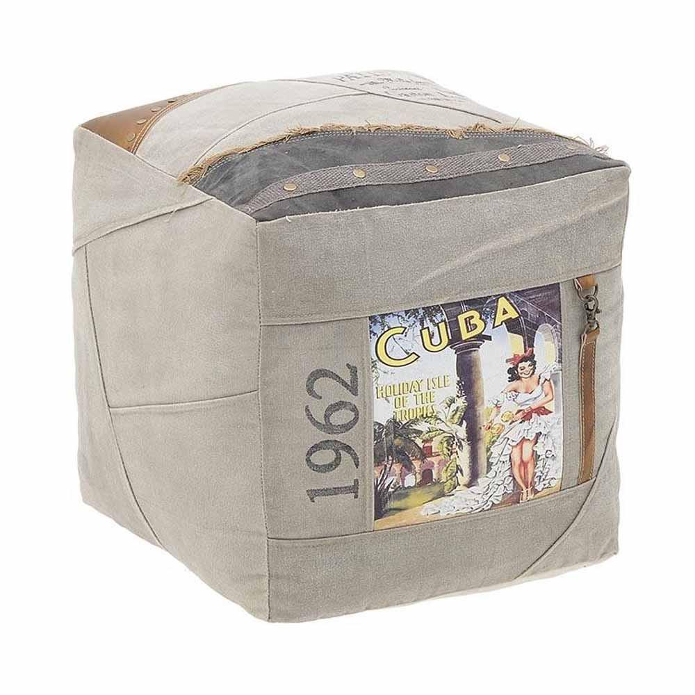 Πουφ InArt 3-50-580-0003 home   σαλόνι   μαξιλάρες   πουφ   σκαμπό