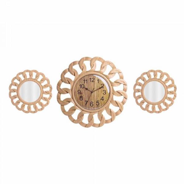 Ρολόι Τοίχου Με Καθρέπτες InArt 3-20-284-0114