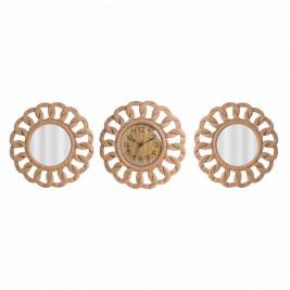 Ρολόι Τοίχου Με Καθρέπτες InArt 3-20-284-0117