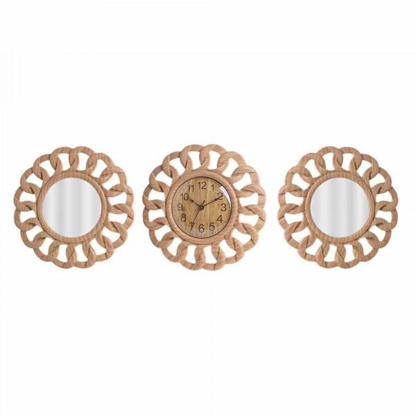 Ρολόι Τοίχου Με Καθρέφτες InArt 3-20-284-0117