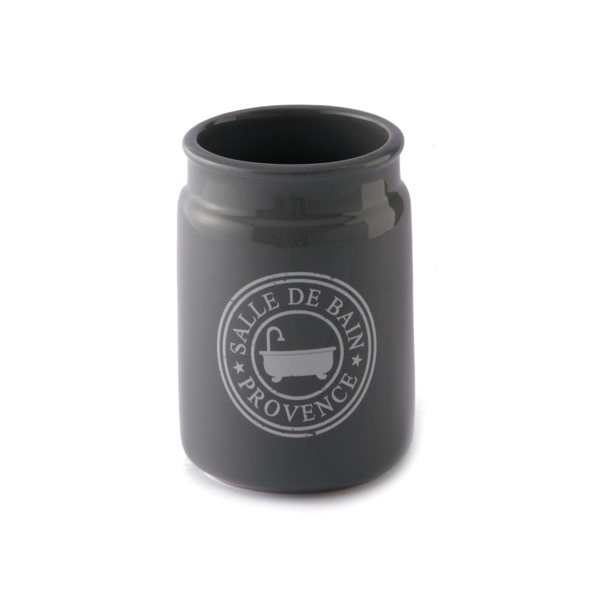 Ποτήρι Οδοντόβουρτσας εstia Salle Grey 02-3388