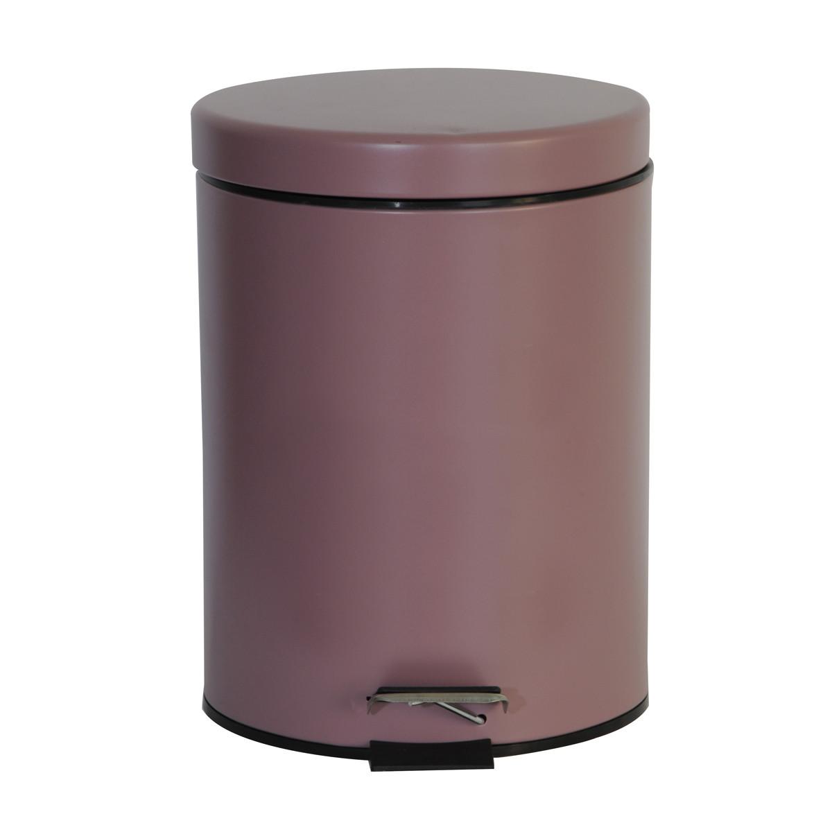 Κάδος Απορριμάτων (20x28) εstia 5Lit Classic Rose 02-3760 home   μπάνιο   κάδοι απορριμμάτων
