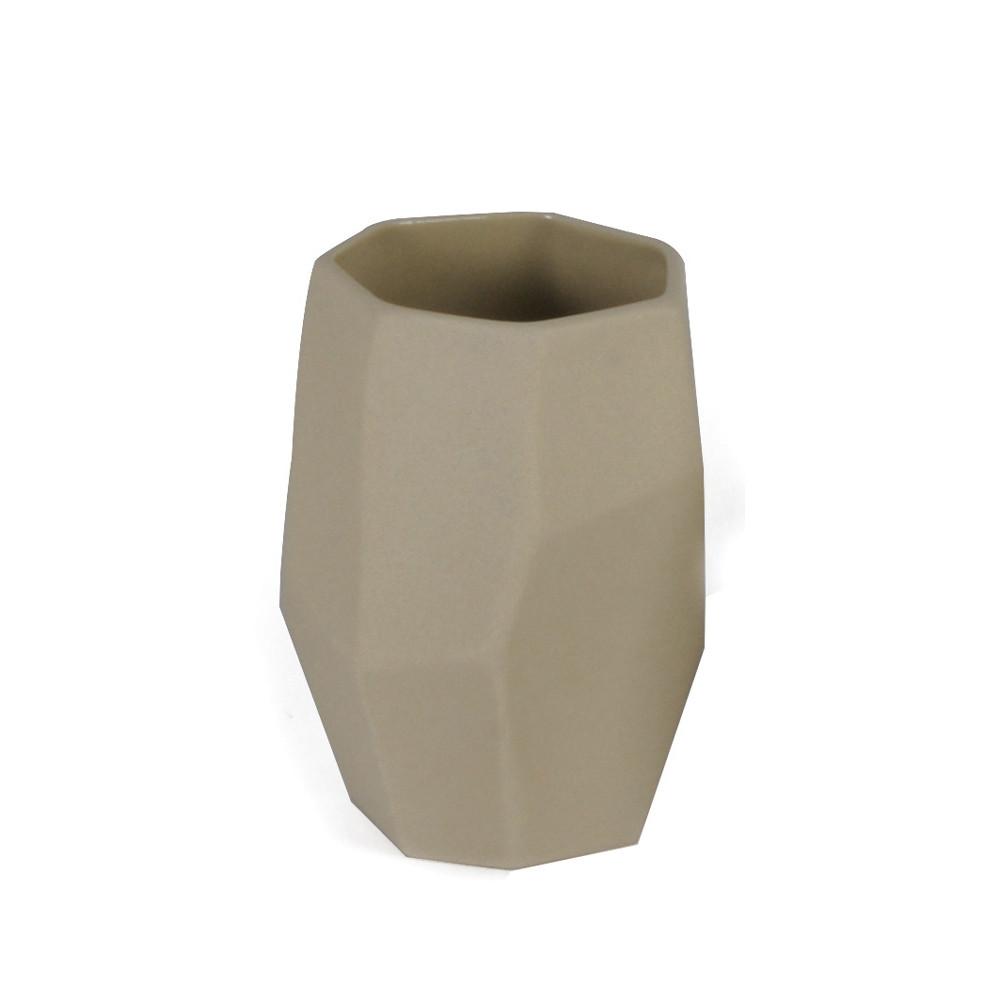 Ποτήρι Οδοντόβουρτσας εstia Rock Beige 02-4019