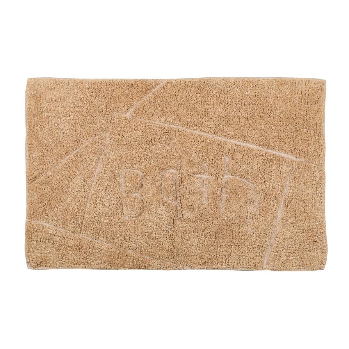Πατάκι Μπάνιου (50×80) εstia Bath Brown 02-4149