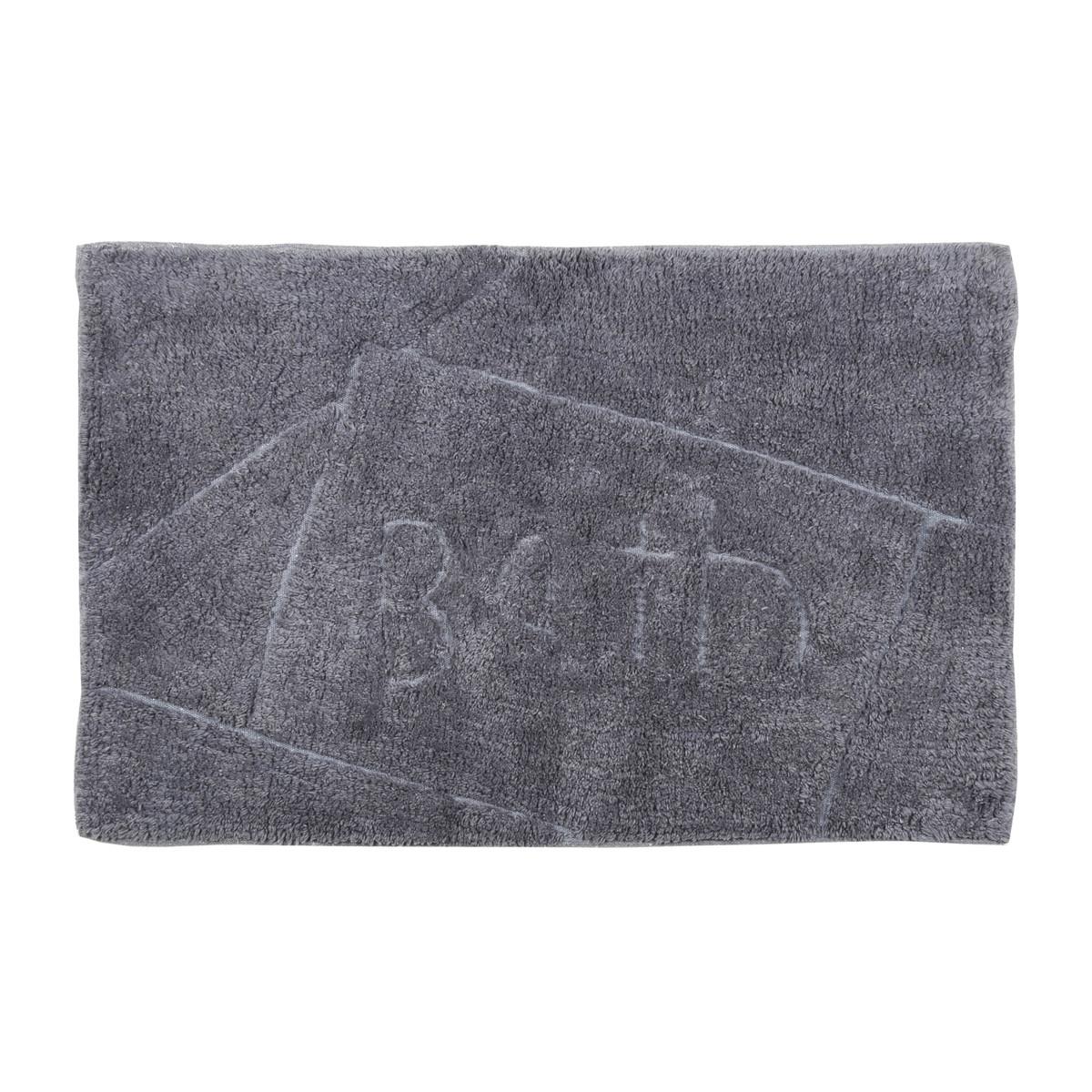 Πατάκι Μπάνιου (50×80) εstia Bath Grey 02-4163