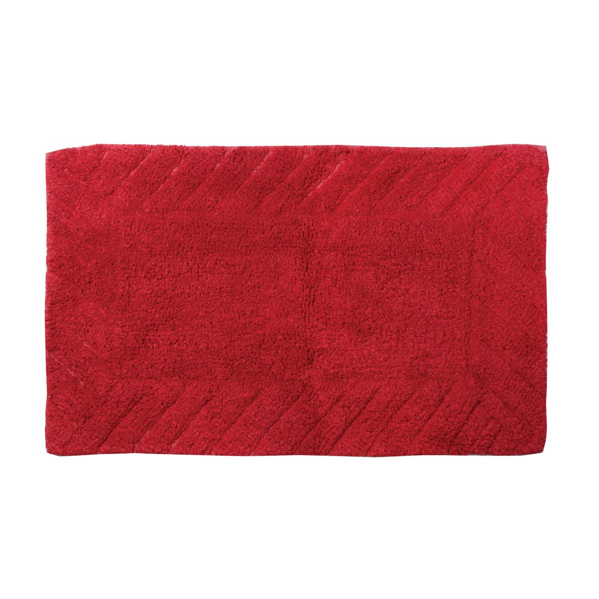 Πατάκι Μπάνιου (50x80) εstia Pastel Red 02-4200
