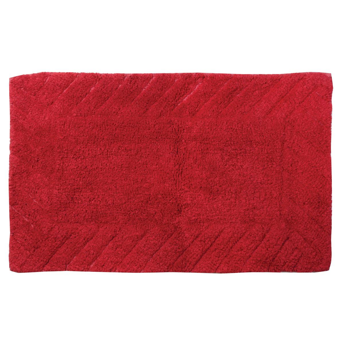 Πατάκι Μπάνιου (60×90) εstia Pastel Red 02-4217