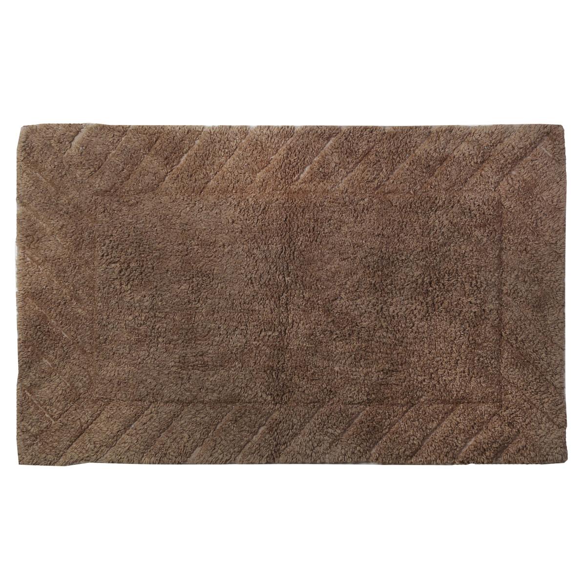 Πατάκι Μπάνιου (60×90) εstia Pastel Brown 02-4231