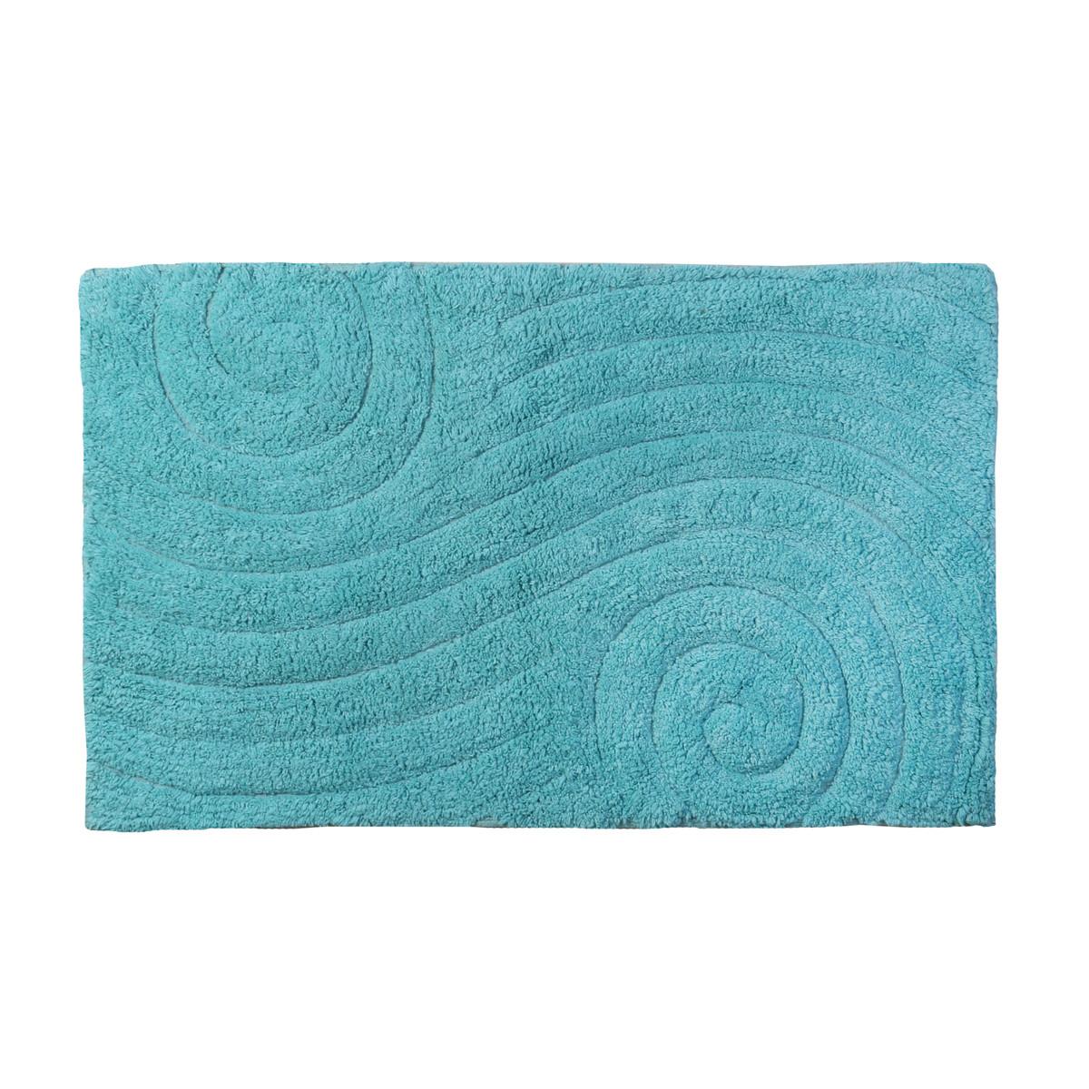 Πατάκι Μπάνιου (50×80) εstia Maze Blue 02-4262