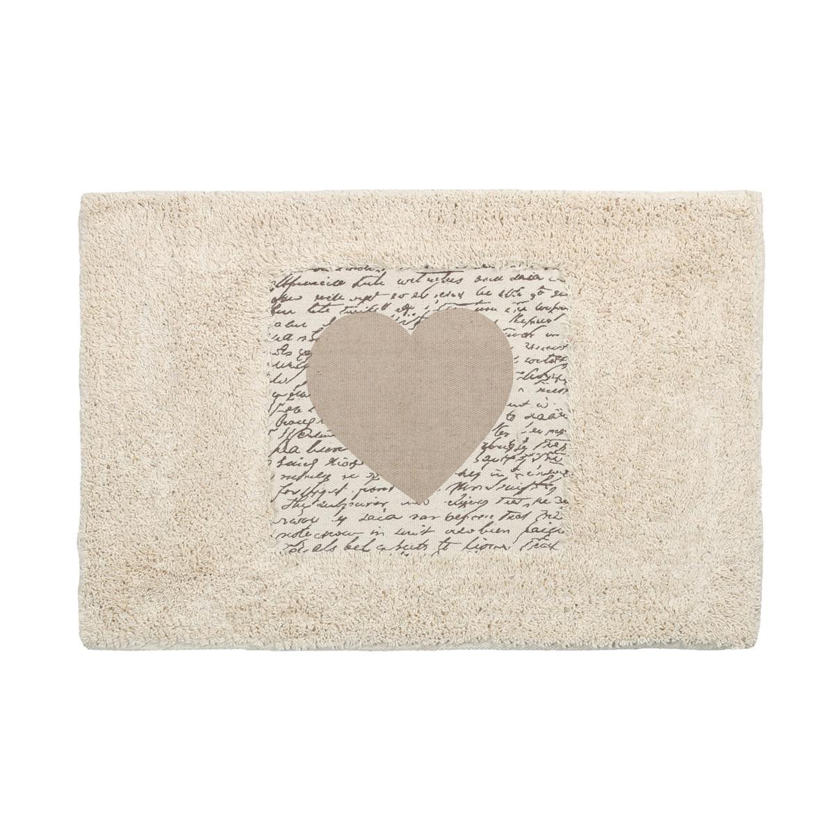 Πατάκι Μπάνιου (40×60) εstia Heart 02-4361