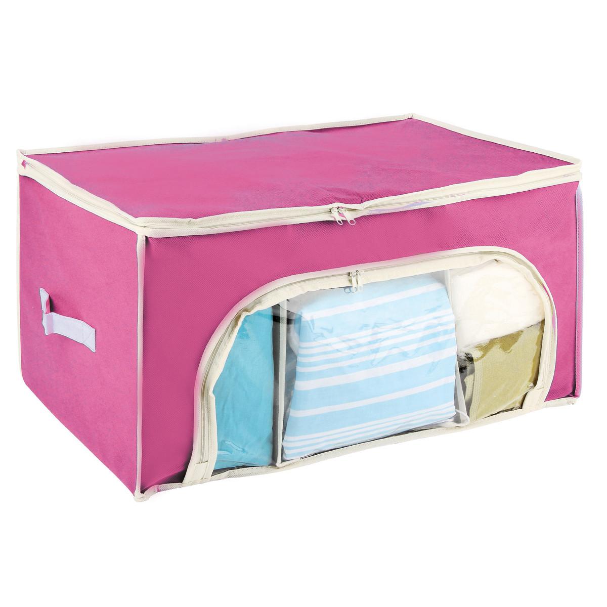 Θήκη Φύλαξης (56x36x30) εstia 03-4699 Pink home   κρεβατοκάμαρα   οργάνωση ντουλάπας
