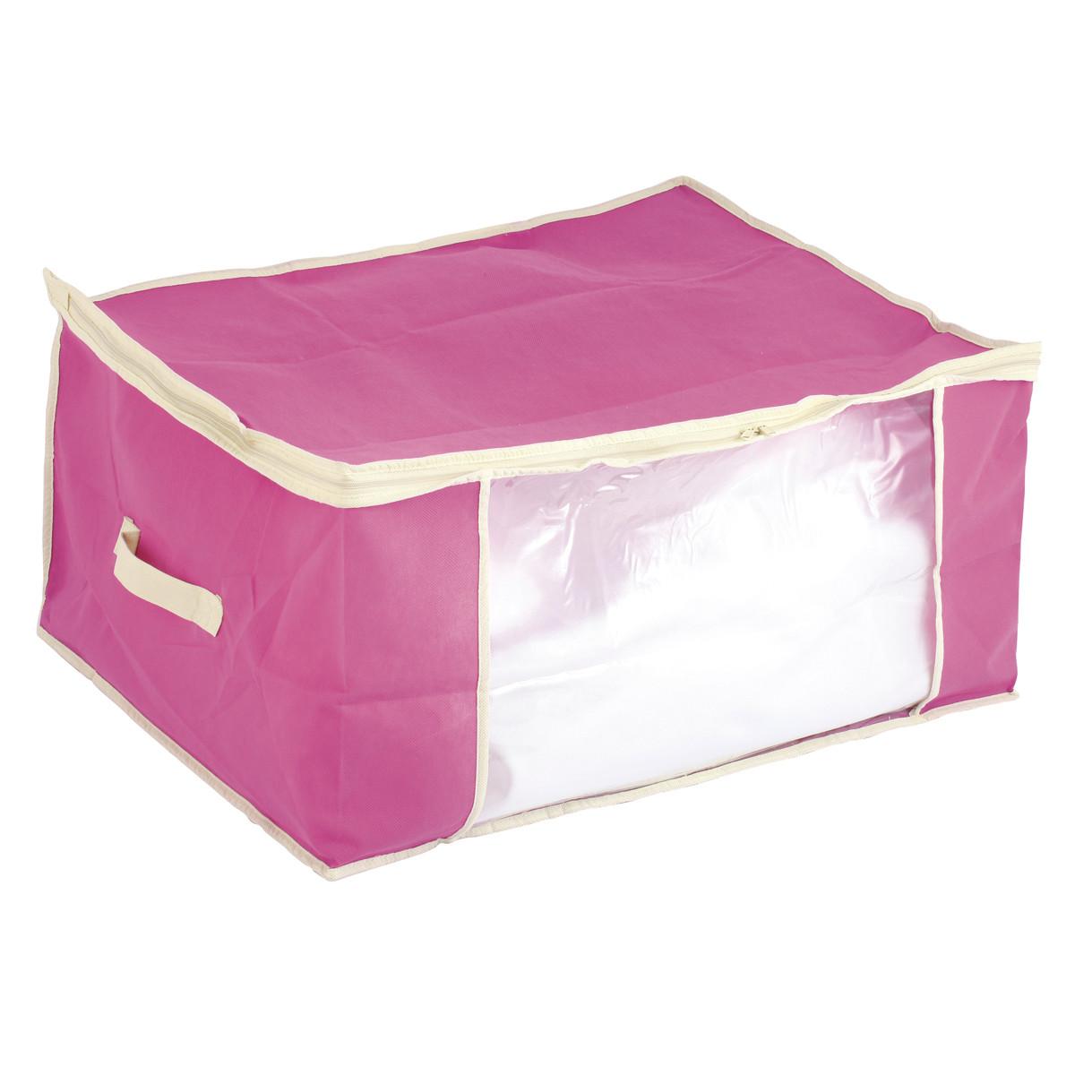 Θήκη Φύλαξης (60x45x30) εstia 03-4736 Pink home   κρεβατοκάμαρα   οργάνωση ντουλάπας