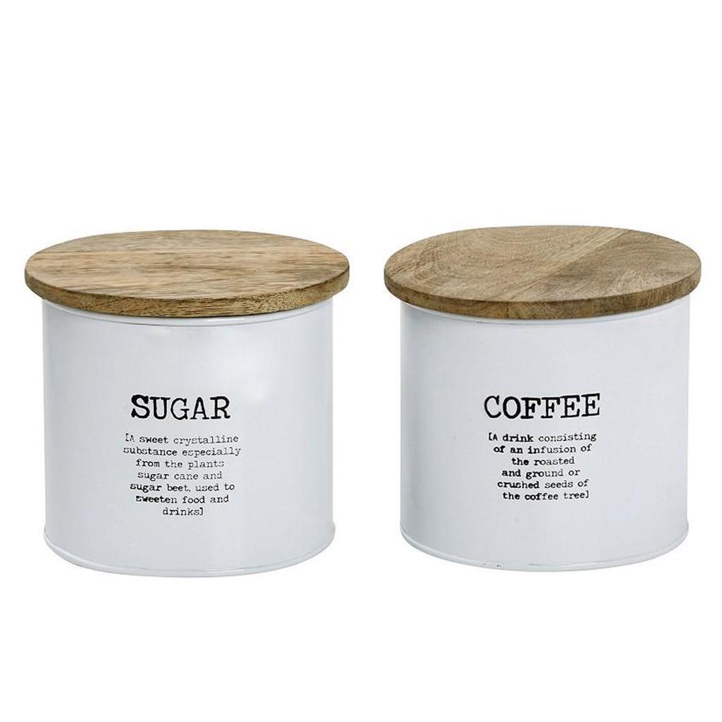 Δοχείο Ζάχαρης + Καφέ (Σετ) Espiel DEB219