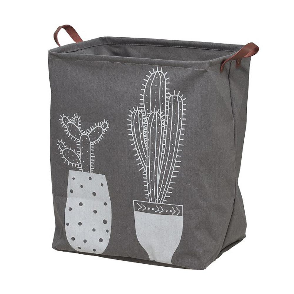 Καλάθι Απλύτων (40x30x50) SealSkin Laundry Bag Cactus Grey