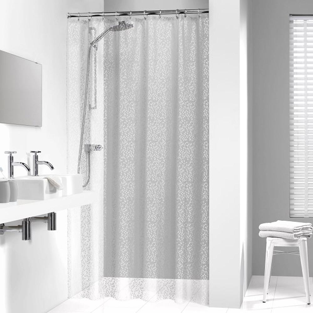 Κουρτίνα Μπάνιου Πλαστική (180×200) SealSkin Pebbles Transparent