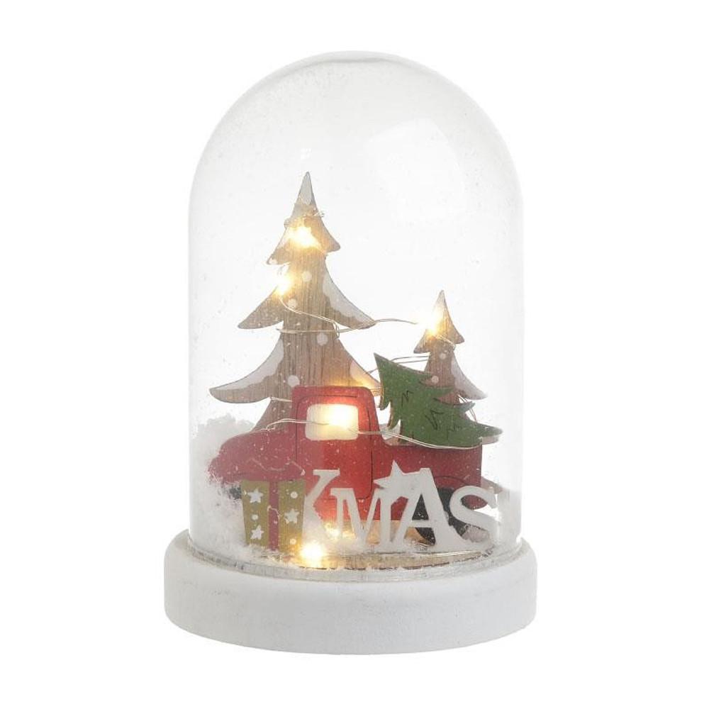 Χριστουγεννιάτικη Χιονόμπαλα Με Led InArt 2-70-540-0062
