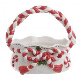 Χριστουγεννιάτικο Μπωλ Με Χερούλι InArt 2-60-212-0003