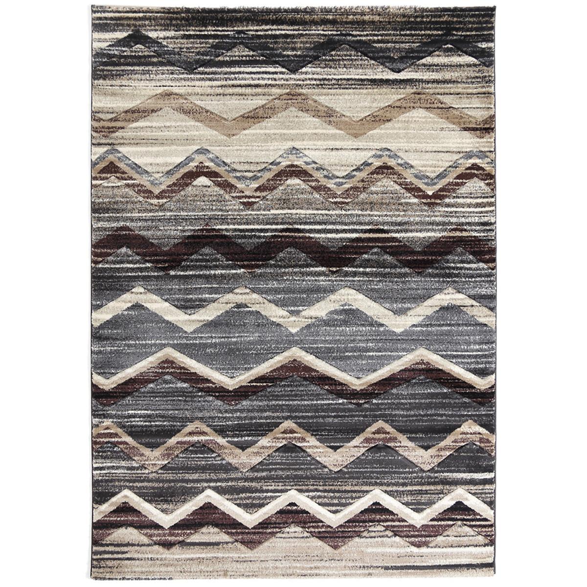 Χαλιά Κρεβατοκάμαρας (Σετ 3τμχ) Royal Carpets Boston 6330A Fume
