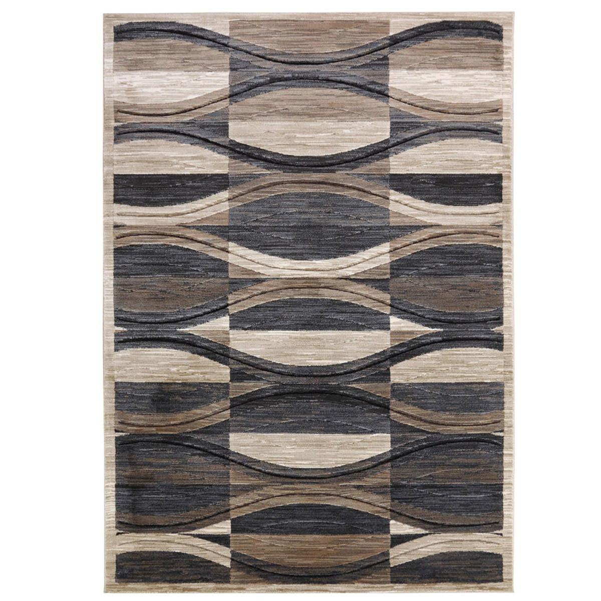 Χαλί (160×230) Royal Carpets Boston 6323A Fume
