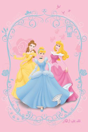 Παιδικό Χαλί (133x190) Disney By Vasilas Princess 88541