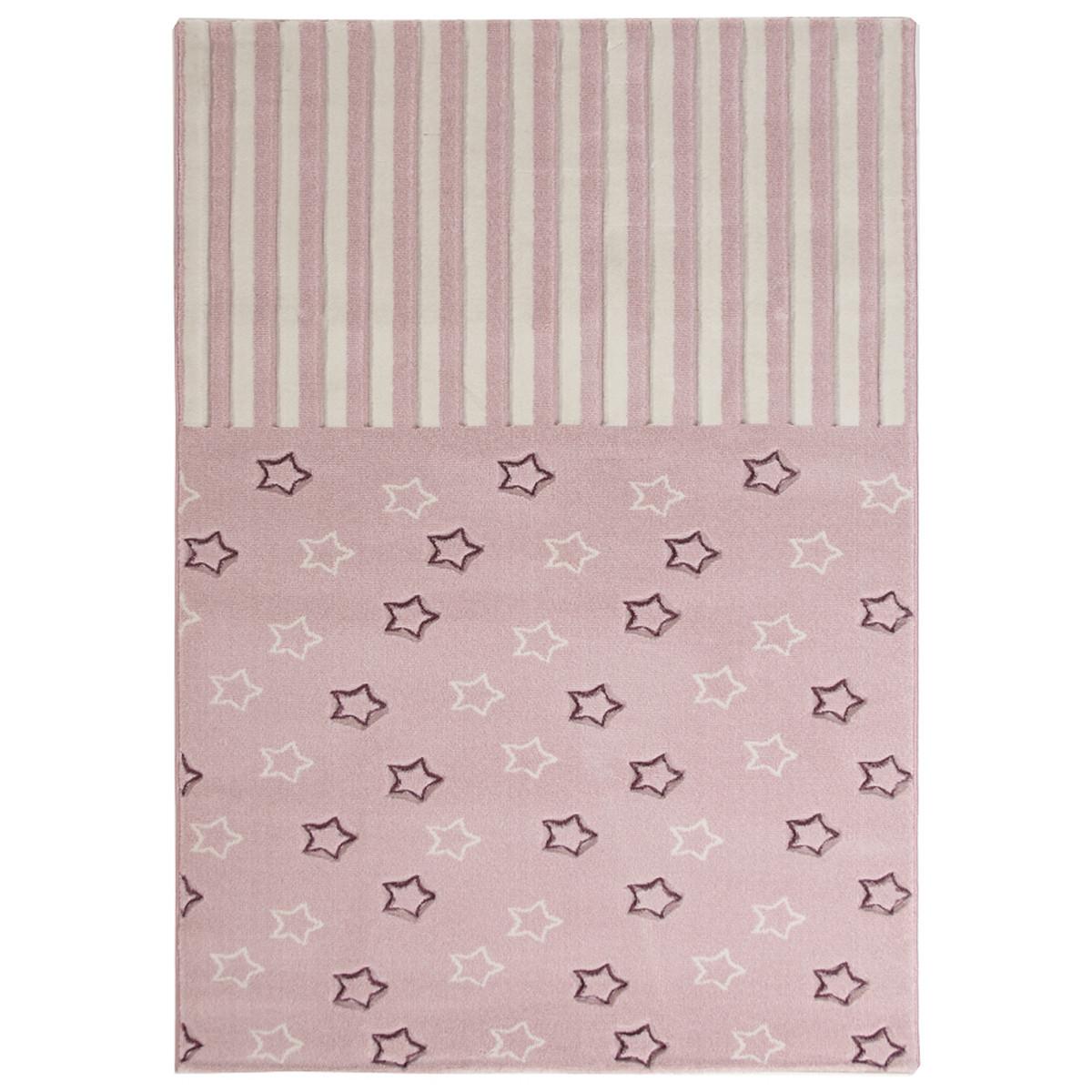 Παιδικό Χαλί (160x230) Royal Carpets Sky 6395D Pink