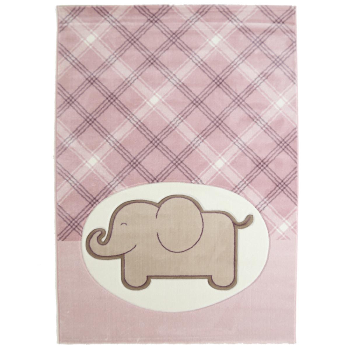 Παιδικό Χαλί (133x190) Royal Carpets Sky 6398C Pink