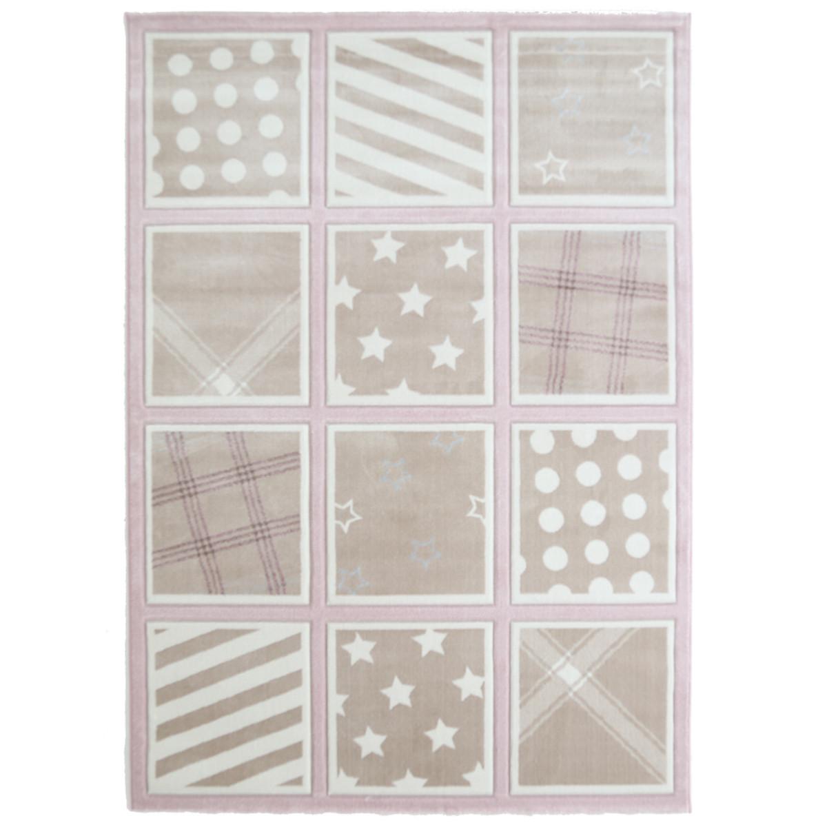 Παιδικό Χαλί (133x190) Royal Carpets Sky 6573A Pink