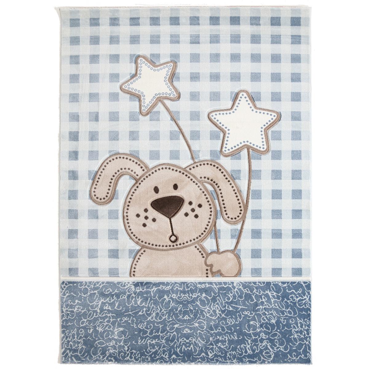 Παιδικό Χαλί (133x190) Royal Carpets Sky 6575A L.Blue